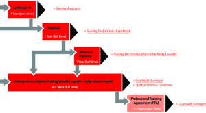 surveying study pathways
